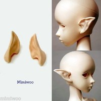 Parabox 1/3 Bjd Dollfie Obitsu 60cm Body Gretel Anime Head Pixy Ear White Skin