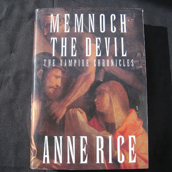 1995 Memnoch the Devil by Anne Rice Hardcover with Dust Jacket