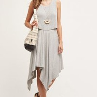 Amadi East River Dress in Light Grey Size: