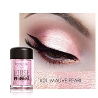 Pro Makeup Glitter Eyeshadow Cosmetic Makeup Shimmer Pigment Loose Powder Beauty maquiagem Nude Eye Shadow 12 Colors