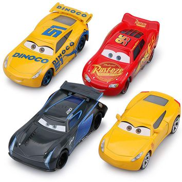 Disney Pixar Cars 2 3 New Lighting McQueen Car Set