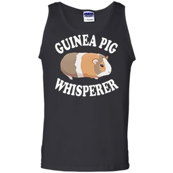 Guinea Pig Whisperer Shirt: Love Guinea Pigs | PA255 Tank Top