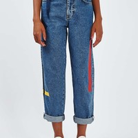 Plastersol Printed Jean by Boutique