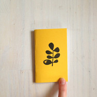 Small Notebook: Succulent Notebook, Leaf, Yellow, Succulent, Kids, Fall, Gift, Unique, Journal, Stamped, Thanksgiving, Stocking Stuffer B608
