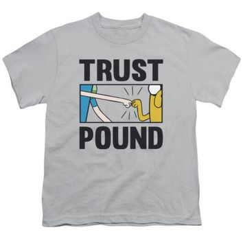 Adventure Time Trust Pound Youth T Shirt