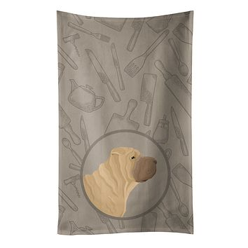 Shar Pei In the Kitchen Kitchen Towel CK2209KTWL