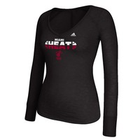 adidas Miami Heat Double Sided Burnout Top