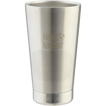 Klean Kanteen 16oz Vacuum Insulated Pint Cup Brushed Stainless, One