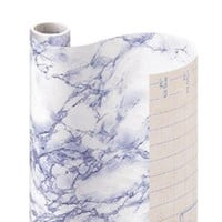 Con-Tact Brand Creative Covering Self-Adhesive Shelf and Drawer Liner, 18-Inches by 9-Feet, Blue Marble