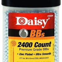 Daisy Outdoor Products 2400 ct BB Bottle (Silver, 4.5 mm) | deviazon.com