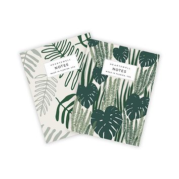 HEARTSWELL JUNGLE POCKET NOTEBOOK SET