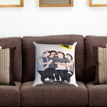 5sos stereo (5 seconds of summer) Pillow Cover , Custom Zippered Pillow Case One Side Two Sides