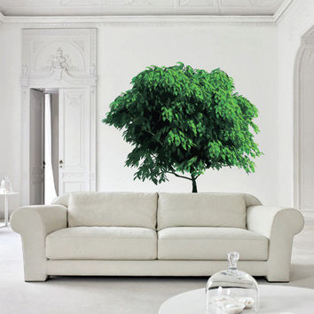 Full Color Wall Decal Mural Sticker Bedroom Living Room Poster Decor Art Tree Foliage (col635)