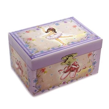Child Related BALLERINA JEWELRY BOX Paper Kindersymphonie 28061.