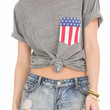 Americana Pocket Crew Neck Tee