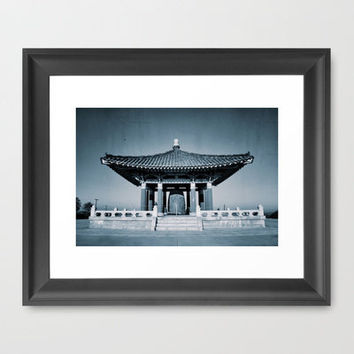 Orient Architecture Framed Art Print by RichCaspian