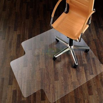 "48"" x 36"" PVC Home Office Chair Floor Mat for Wood/Tile 1.50mm Thick"