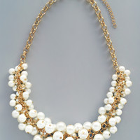 Clusters of Pearls Necklace