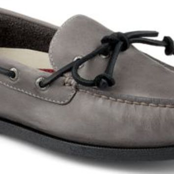 Sperry Top-Sider Authentic Original 1-Eye Boat Shoe Gray, Size 9M  Men's Shoes