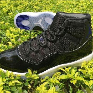 Original Air Jordan Retro 11 Space Jam Basketball Shoes 11s For Men Women With Shoes Box + Number 45 23 Athletic Sport Sneakers