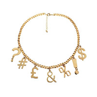 Currency Gold Necklace (SOLD OUT)