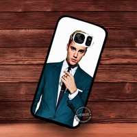 Justin Bieber Photo Shoot Teen Boy Famous Music - Samsung Galaxy S7 S6 S5 Note 7 Cases & Covers
