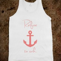 Refuse to sink Peach Anchor - Awesome fun #$!!*&