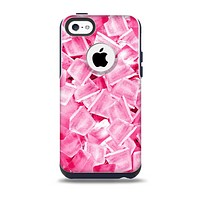 The Hot Pink Ice Cubes Skin for the iPhone 5c OtterBox Commuter Case