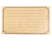 Blank Card Wood Stamp By Recollections™™