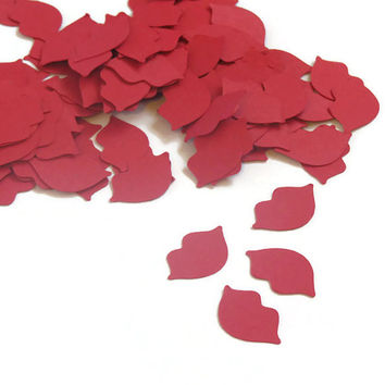Lips Confetti - Fun Party Supplies - 100 pieces - Wedding - Bachelorette Party