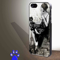 Flapper art deco for iphone 4/4s/5/5s/5c/6/6+, Samsung S3/S4/S5/S6, iPad 2/3/4/Air/Mini, iPod 4/5, Samsung Note 3/4 Case **