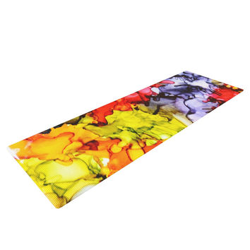 """Claire Day """"Southern Comfort"""" Yoga Mat"""