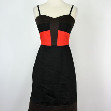 DKNY Color Block Dress 4 NWOT
