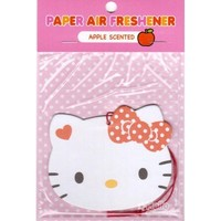 Sanrio Hello Kitty Paper Car Air Freshener : Apple Scented #14 $4.25