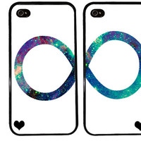 Infinity Loop Case / Best Friends iPhone 4 Case Galaxy iPhone 5 Case iPhone 4S Case iPhone 5S Case One For Your BFF Set Phone Case Gift