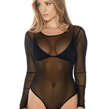 Naked Wardrobe The Garland Bodysuit