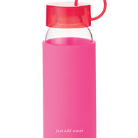 Kate Spade Raise A Glass Water Bottle Pink ONE