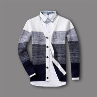 Men's Thick Winter Cardigan