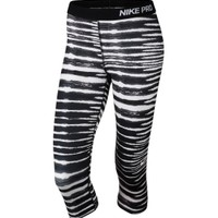 Nike Women's Pro Core Tiger Printed Compression Capris | DICK'S Sporting Goods