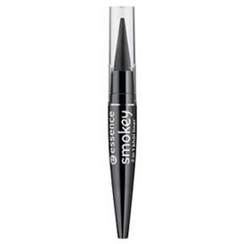 Essence 2 in 1 Khol Eyeliner Smokey Black - 0.05 oz : Target