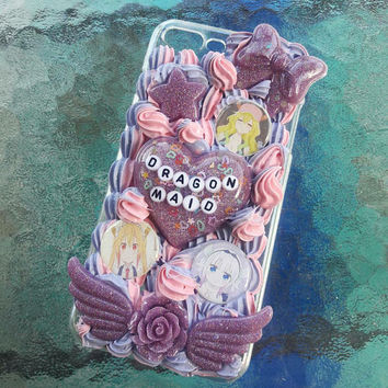 iPhone 7 PLUS Miss Kobayashi's Dragon Maid full whip decoden case