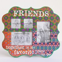 Friends  Indie  Print  Multiple  Photo  Wood  Frame    From  Natural  Life