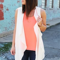 City Love Vest {Cream}