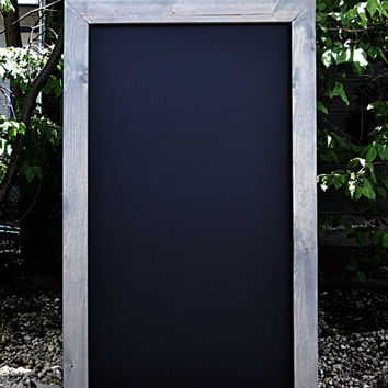 "36""x60"" Rustic Framed Chalkboard SHIPS IN 3-5 DAYS!"