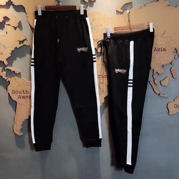 """ BALENCIAGA "" Women Men leggings Movement trousers"