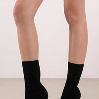 Morgan Heeled Sock Boots