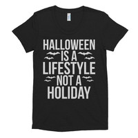 Halloween is a Lifestyle not a Holiday Women's t-shirt