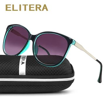 ELITERA 2017 Brand Star Style Luxury Female Sunglasses Women Oversized Sun Glasses Vintage Outdoor Sunglass Oculos de sol 3006
