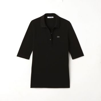 Women's Lacoste Slim Fit Petit Piqué Polo