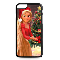 Disney, Christmas, rapunzel iPhone 6 Plus Case